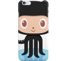 Github Social Coding Stickers iPhone Case/Skin