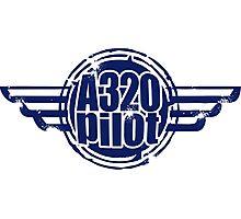 A320 Pilot Photographic Print