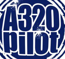A320 Pilot Sticker