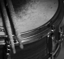 Drum and stix by Erin  Kelly