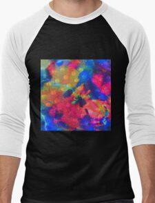 Color Happy Men's Baseball ¾ T-Shirt