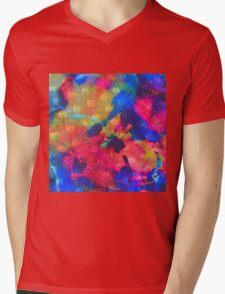 Color Happy Mens V-Neck T-Shirt