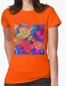 Color Happy Womens Fitted T-Shirt