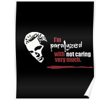 Paralyzed Poster