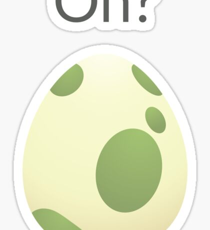 Pokemon Egg Hatching Sticker