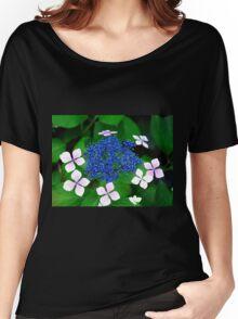 Blue blossom Women's Relaxed Fit T-Shirt