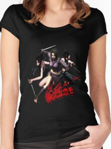 Ayame Women's Fitted Scoop T-Shirt
