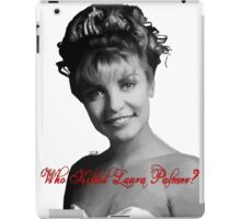 Who Killed Laura Palmer iPad Case/Skin