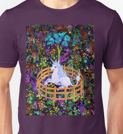 The Last Unicorn in Captivity Unisex T-Shirt