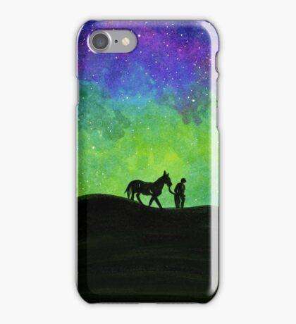A Man and His Horse Original iPhone Case/Skin