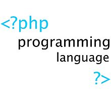 Php Programmer Stickers Photographic Print