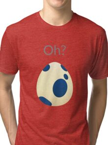 Pokemon Egg Mystic Tri-blend T-Shirt