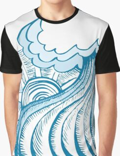 Cool wave Graphic T-Shirt