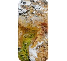Textures of Yellowstone iPhone Case/Skin