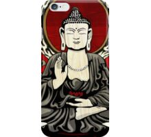Gautama Budda Colour Crop iPhone Case/Skin