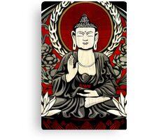Gautama Budda Colour Crop Canvas Print