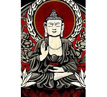 Gautama Budda Colour Crop Photographic Print