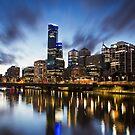 Melbourne Cityscape by JimmyAmerica