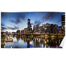 Melbourne Cityscape Poster