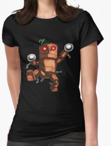 Mokujin Womens Fitted T-Shirt