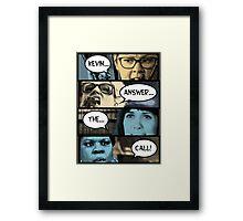 Ghostbusters - Kevin Answer The Call Framed Print