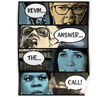 Ghostbusters - Kevin Answer The Call Poster