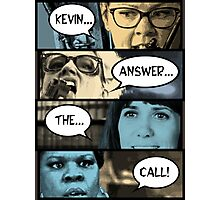 Ghostbusters - Kevin Answer The Call Photographic Print