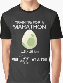 Training for a Marathon! (Pokemon Go!) Graphic T-Shirt