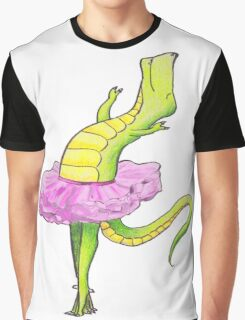 Tyrannosaurus- King of the Ballet Graphic T-Shirt