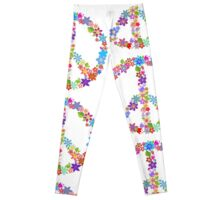 Flowers and Peace Leggings