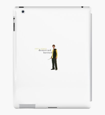 cedric diggory deserved better iPad Case/Skin