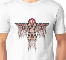 Red Native American Southwest-Style Thunderbird Unisex T-Shirt