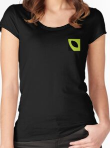 Cool Alien Logo Women's Fitted Scoop T-Shirt
