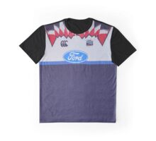 Super Rugby - Auckland Blues 1999 Graphic T-Shirt