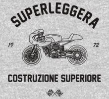 Construzione Superiore - Black by superleggera
