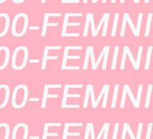 1-800-FEMINIST Sticker