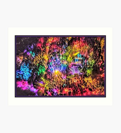 Electric Forest 2016 Art Print