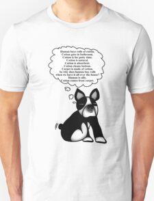 Boston Terrier: Cotton Wisdom Unisex T-Shirt