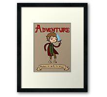 Time for Adventure Framed Print