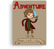 Time for Adventure Canvas Print
