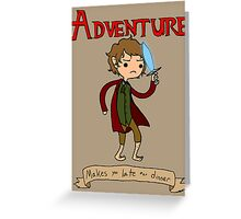 Time for Adventure Greeting Card
