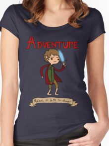 Time for Adventure Women's Fitted Scoop T-Shirt