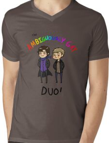 The Ambiguously Gay Duo! Mens V-Neck T-Shirt