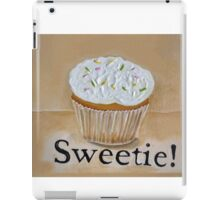 Cupcake Sweetie!  iPad Case/Skin