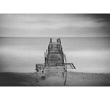 Tranquil Blues - BW Photographic Print