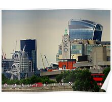 Walkie Talkie building, London Poster