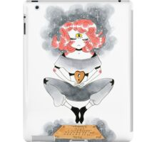 Pink Haired Ouija Girl iPad Case/Skin