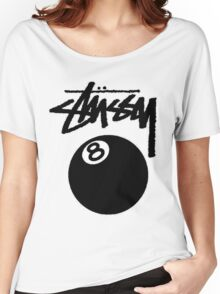 STUSSY - big eight ball #MP Women's Relaxed Fit T-Shirt