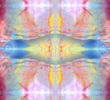 Mineral Tapestry 1x8 © Brad Michael Moore Sticker
