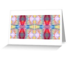 Mineral Tapestry 1x8 © Brad Michael Moore Greeting Card